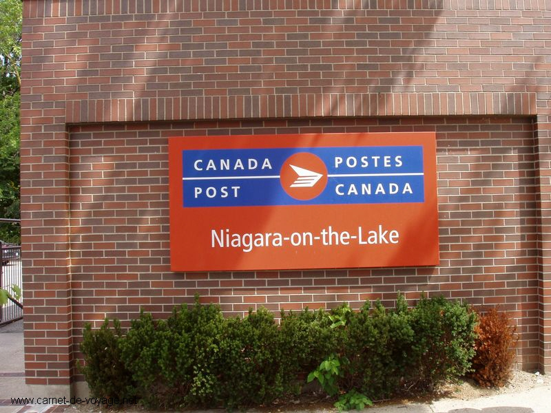 niagara on the lake La poste ze post